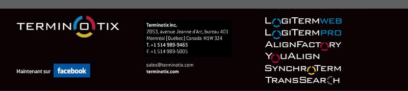 terminotix.com  Tél. : (514) 989-9465